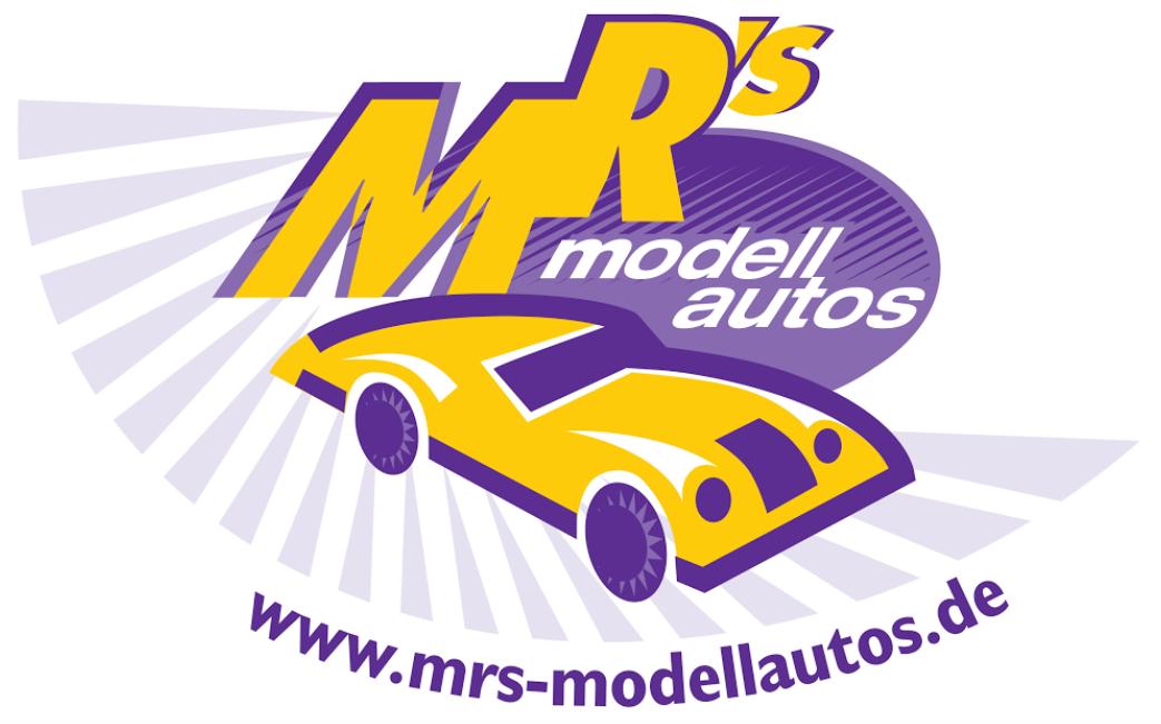 MRs Modellautos Ihr Modellauto Spezialist-Logo