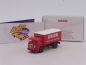 "Preview: Wiking 0476 03 # Büssing 4500 Koffer-Lkw in rot-weiß "" Union Transport "" 1:87"
