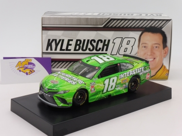 "Lionel Racing C182023IBKB # Toyota NASCAR Serie 2020 "" Kyle Busch - Interstate Batteries "" 1:24"