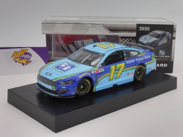 "BLACK-​Deal ### Lionel Racing C17202353CH # Ford NASCAR Serie 2020 "" Chris Buescher - Fifth Third Bank "" 1:24"
