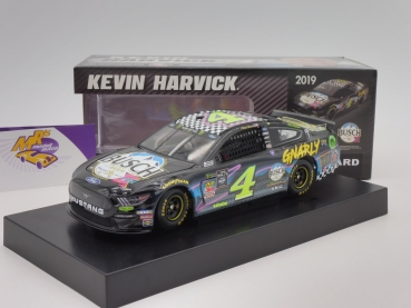 "BLACK-​Deal ### Lionel Racing CX41923XGKH # Ford NASCAR Serie 2019 "" Kevin Harvick - Busch Beer Gen X "" 1:24"