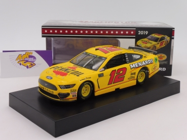"Lionel Racing C121923MWRB # Ford NASCAR Serie 2019 "" Ryan Blaney - Pennzoil Darlington Throwback "" 1:24"