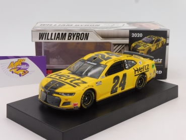 "BLACK-​Deal ### Lionel Racing C242023HEWB # Chevrolet NASCAR Serie 2020 "" William Byron - Hertz "" 1:24"