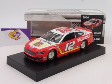 "Lionel Racing C122023BWRB # Ford NASCAR Serie 2020 "" Ryan Blaney - Bodyarmor "" 1:24"