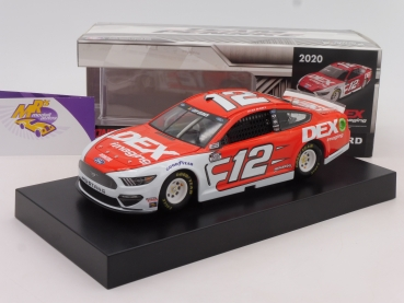 "BLACK-​Deal ### Lionel Racing C122023DWRB # Ford NASCAR Serie 2020 "" Ryan Blaney - Dex Imaging "" 1:24"