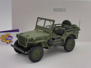 "Norev 189013 # US Jeep Willys Baujahr 1942 in "" olivegrün "" 1:18"