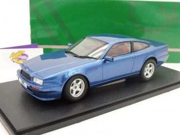 "Cult CML035-2 # Aston Martin Virage Coupe Baujahr 1988 in "" blaumetallic "" 1:18"