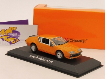 "Maxichamps 940113591 # Renault Alpine A310 Baujahr 1976 in "" orange "" 1:43"