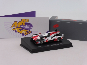 "Spark 87S141 # Toyota TS050 Hybrid No.7 24h LeMans 2018 "" Conway- Lopez "" 1:87"