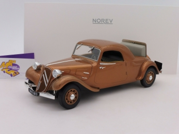 "Norev 181441 # Citroen Traction Avant Coupe Baujahr 1939 in "" braunmetallic "" 1:18"