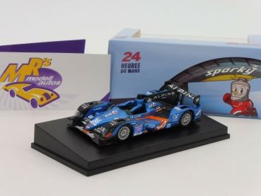 "Sparky Y090 # Alpine A450 No. 36 24h LeMans 2015 "" Panciatci - Chatin "" 1:64"