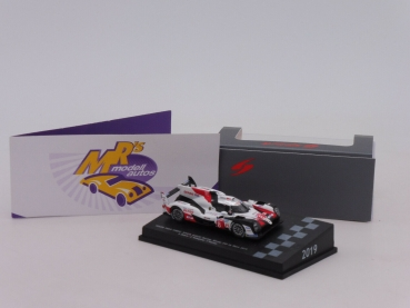 "Spark 87LM19 # Toyota TS050 Hybrid #8 Winner 24h Le Mans 2019 "" F. Alonso "" 1:87"