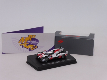"Spark 87S149 # Toyota TS050 Hybrid Nr.7 2nd. 24h Le Mans 2019 "" M. Conway "" 1:87"