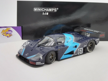 "Minichamps 155893500 # Sauber Mercedes C9 No.61 Testcar 1989 "" Jochen Mass "" 1:18"