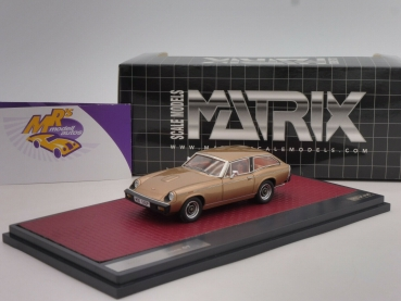 "Matrix 41002-141 # Jensen GT Coupe Baujahr 1975-1976 "" goldmetallic "" 1:43"