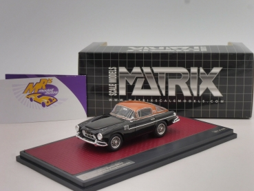 "Matrix 50108-142 # Aston Martin DB2/4 Vignale HRH Baujahr 1954 "" black-copper "" 1:43"