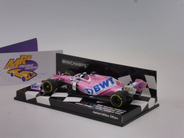 "Minichamps 417200018 # BWT Racing Point F1 Launch Car 2020 "" Lance Stroll "" 1:43"