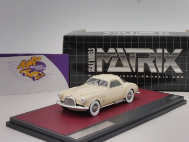 "Matrix 50403-011 # DeSoto Adventurer 1 Ghia Coupe Baujahr 1953 "" beige "" 1:43"