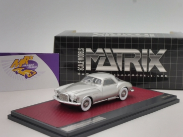 "Matrix 50403-012 # DeSoto Adventurer 1 Ghia Coupe Baujahr 1953 "" silbermetallic "" 1:43"