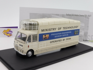 "Autocult 10004 # Bedford SB3 Monile Cinema Baujahr 1967 "" Ministry of ... "" 1:43"