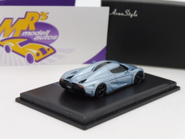 "BLACK-Deal ###  FrontiArt AS013-76 # Koenigsegg Regera Baujahr 2015 "" Horizon Bluemetallic "" 1:87"
