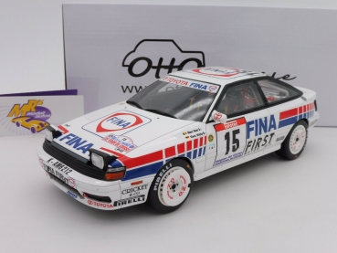 Ottomobile OT727 # Toyota Celica GT-4 (ST165) #15 4th Tour de Corse 1991 1:18