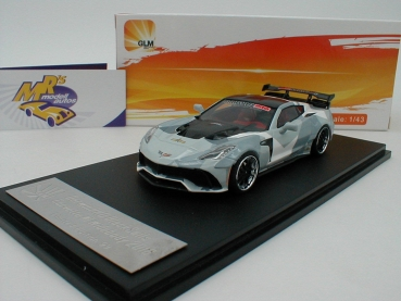GLM 43200001 # Chevrolet Corvette Widebody DarwinPRO Black Sails camouflage 1:43