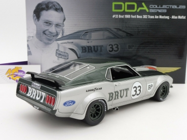 "Real Art Replicars RAR 18002 # FORD Mustang Boss 302 Trans Am "" A. Moffat "" 1:18"