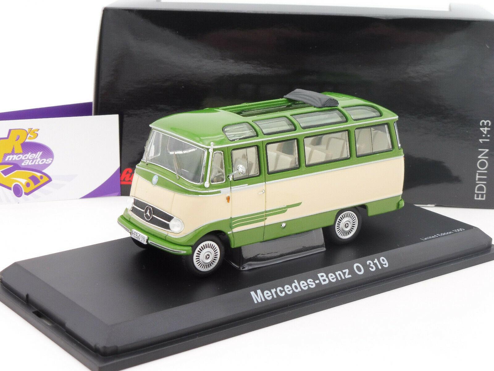 Neu Beige//Grün Schuco 02917-1//43 Mercedes-Benz O319 Bus