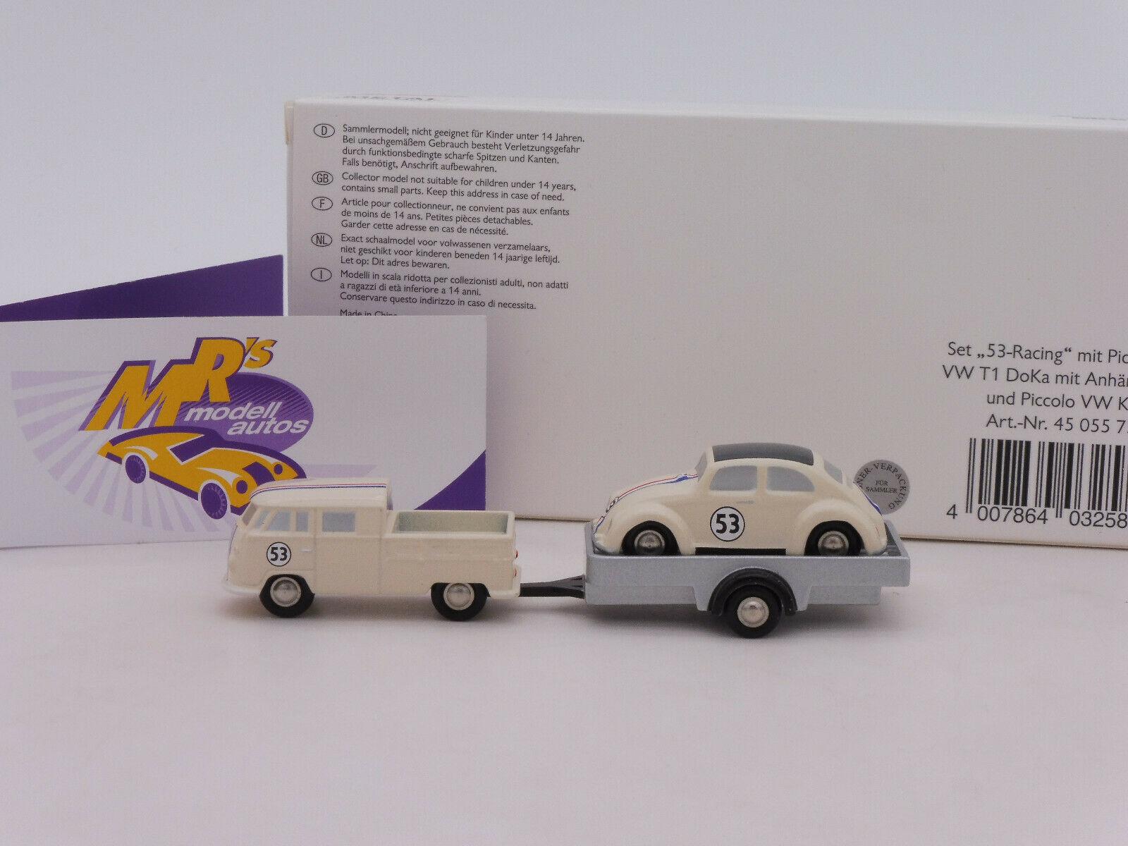 Schuco Piccolo Montageset VW Käfer und VW Bus T1# 450559300