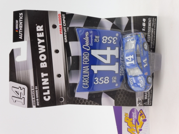 "Lionel Racing 16930 # Ford NASCAR Serie 2018 "" Clint Bowyer "" Carolina Ford Throwback "" mit Motorhaube "" 1:64"