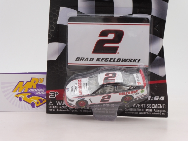 "Lionel Racing 17495 # Ford NASCAR Serie 2019 "" Brad Keselowski "" Discount Tire "" mit Magnet "" 1:64"