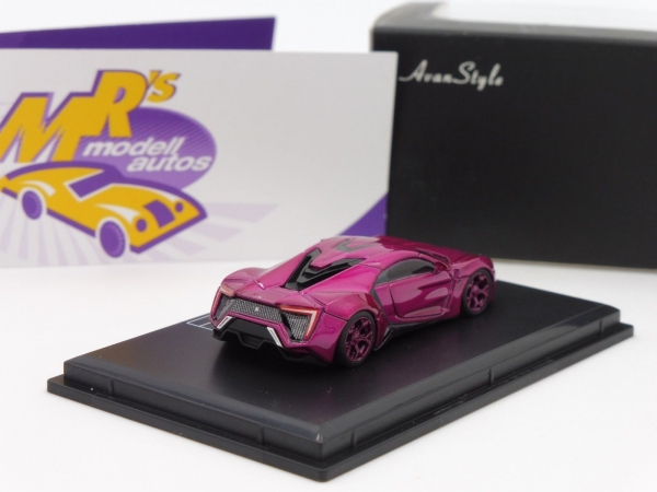 FrontiArt AS015-36 - Fenyr Supersport (W Motors) Bj. 2017 Transparent-Purple 1:87