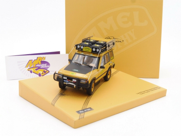 "Almost Real 410410 # Land Rover Discovery Kalimanta 1996 "" Camel Trophy "" 1:43"