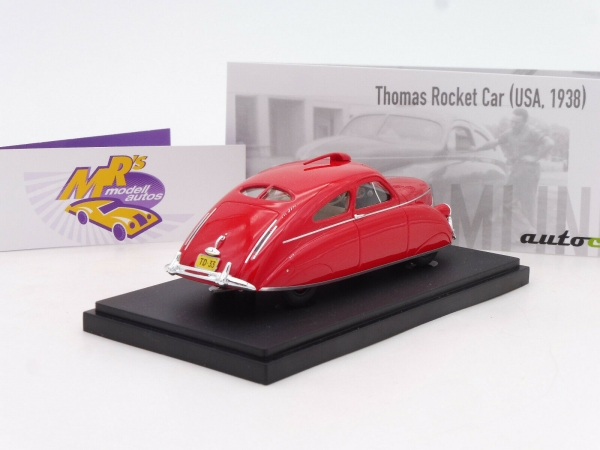 "Autocult 04030 # Thomas Rocket Car USA Baujahr 1938 "" rot "" 1:43"